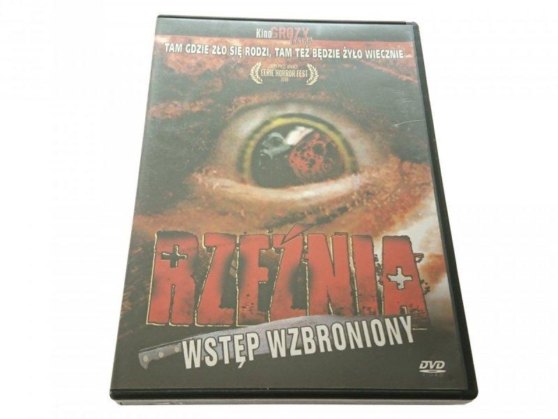 RZEŹNIA. WSTĘP WZBRONIONY. DVD