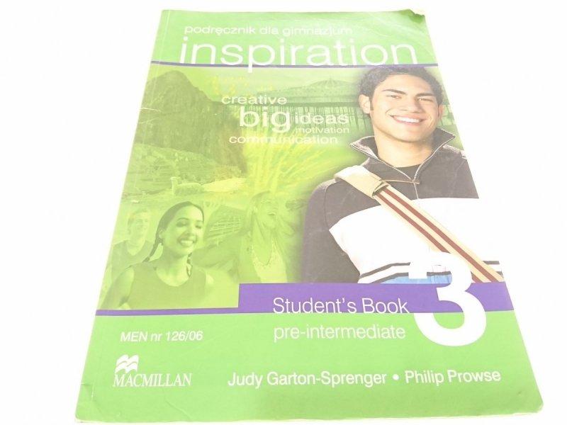 INSPIRATION 3. PODRĘCZNIK DLA GIMNAZJUM