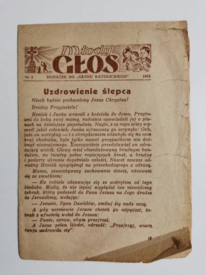MŁODY GŁOS DODATEK DO GŁOSU KATOLICKIEGO NR 3 1951