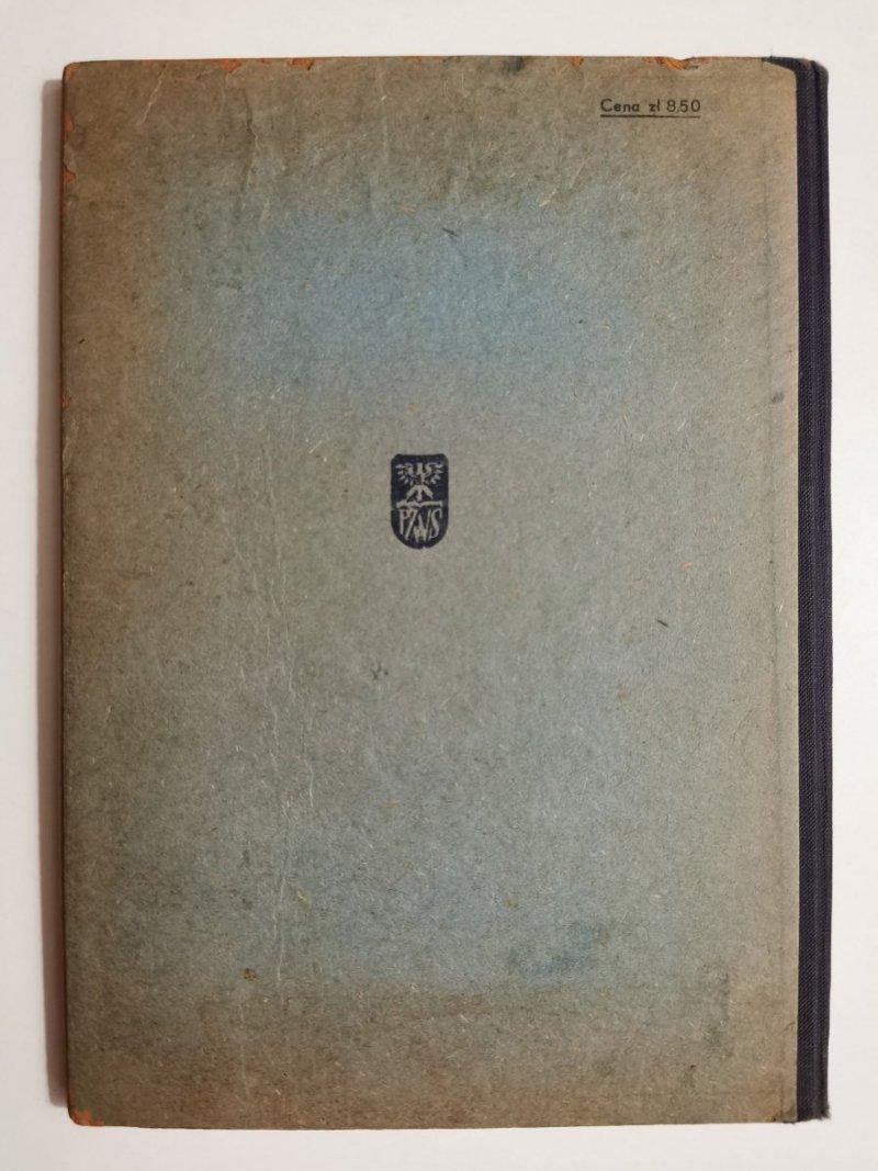 TABLICE MATEMATYCZNO-FIZYCZNE CZTEROCYFROWE - Władysław Wojtowicz 1959