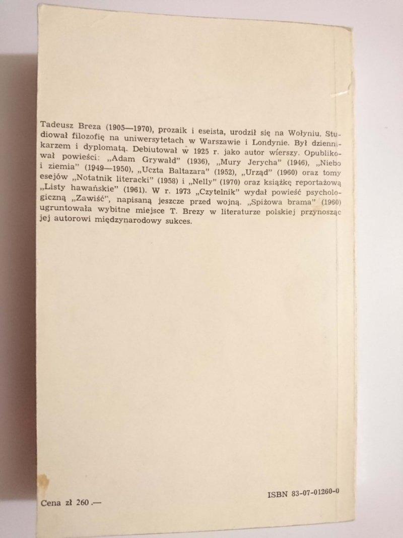 SPIŻOWA BRAMA - Tadeusz Breza 1985