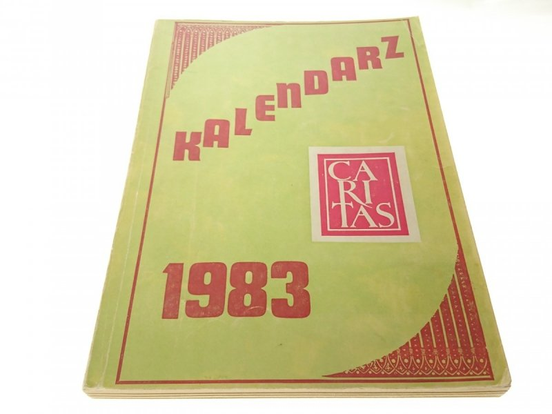 KALENDARZ CARITAS 1983