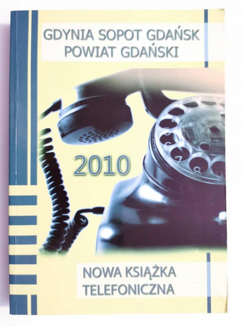 GDYNIA SOPOT GDAŃSK POWIAT GDAŃSKI 2010 NOWA KSIĄŻKA TELEFONICZNA