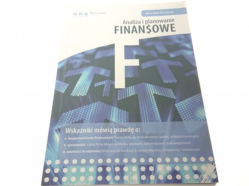 ANALIZA I PLANOWANIE FINANSOWE - Duda-Piechaczek