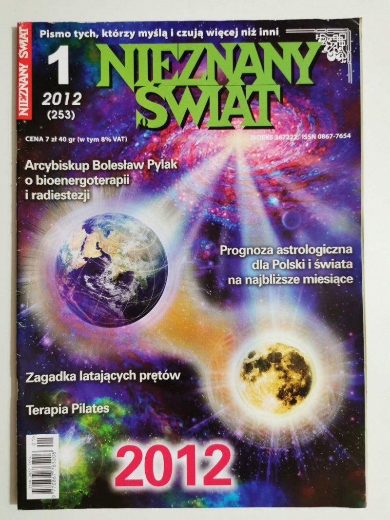 NIEZNANY ŚWIAT NR 1 2012 (253) PROGNOZA ASTROLOGICZNA DLA POLSKI