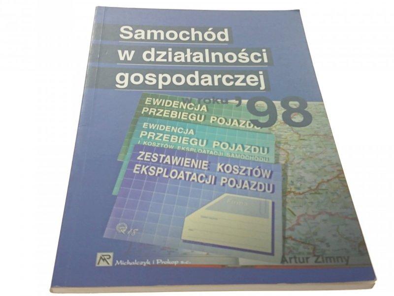 SAMOCHÓD W DZIAŁALNOŚCI GOSPODARCZEJ W ROKU '98
