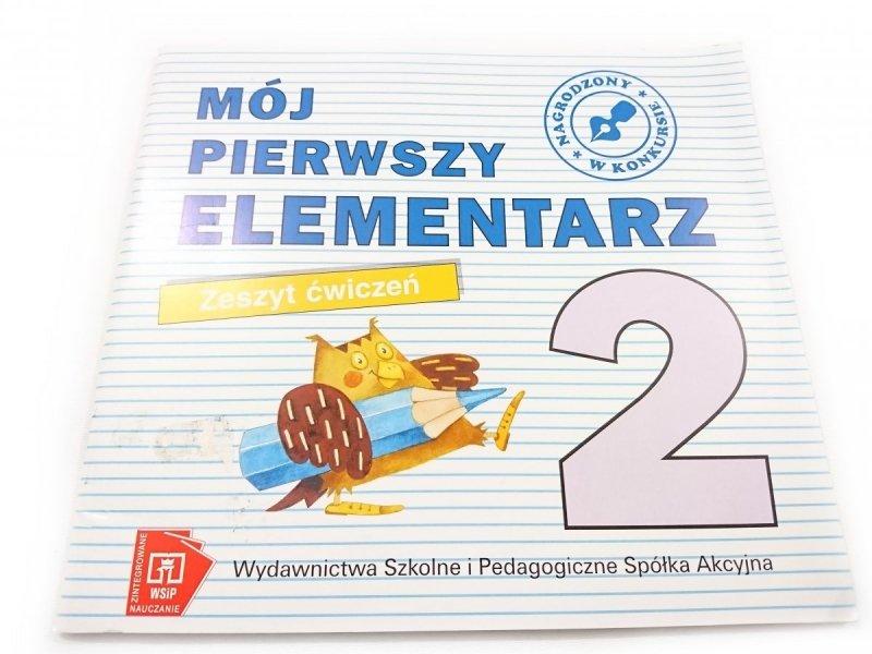 MÓJ PIERWSZY ELEMENTARZ. ZESZYT ĆWICZEŃ 2 1999