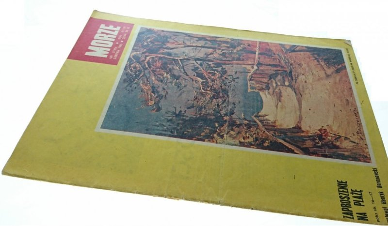 MORZE NR 8/654 SIERPIEŃ 1985
