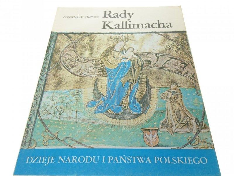 DNiPP: RADY KALLIMACHA - Krzysztof Baczkowski 1989