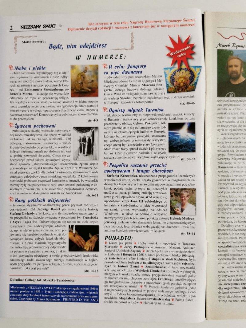 NIEZNANY ŚWIAT NR 11 2009 (227) NIEBA I PIEKŁA
