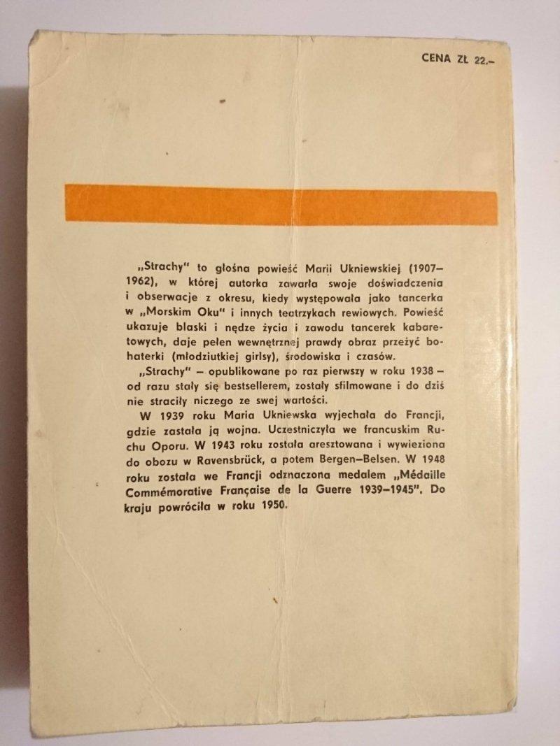 STRACHY - Maria Ukniewska 1975