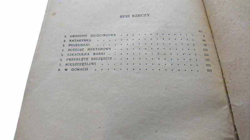 OPOWIADANIA - Bolesław Prus 1954