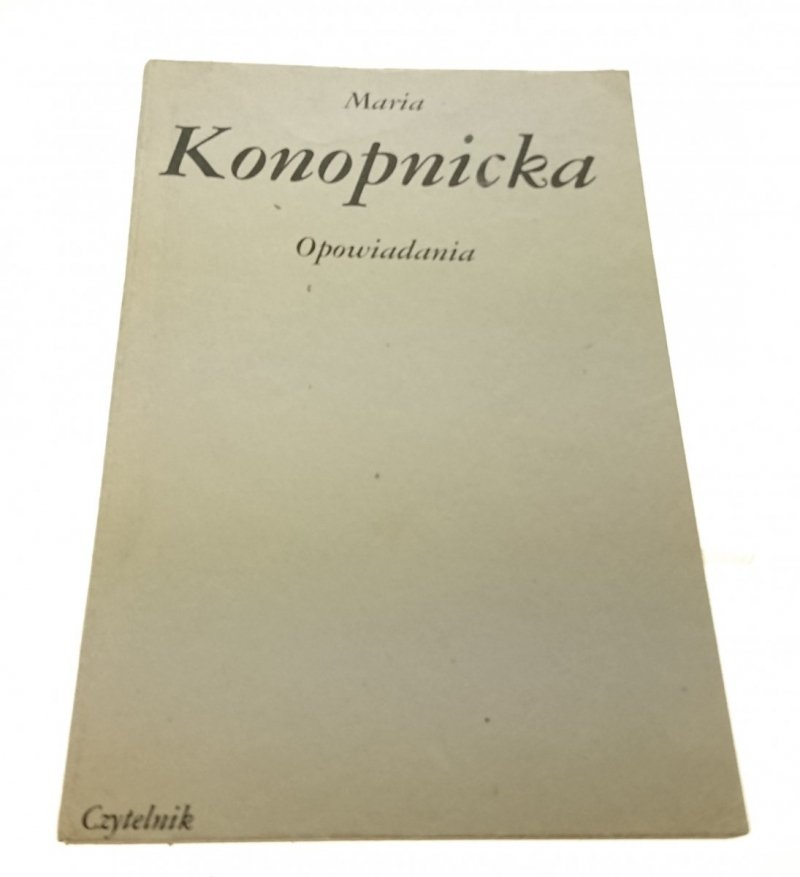 OPOWIADANIA - Maria Konopnicka (1984)