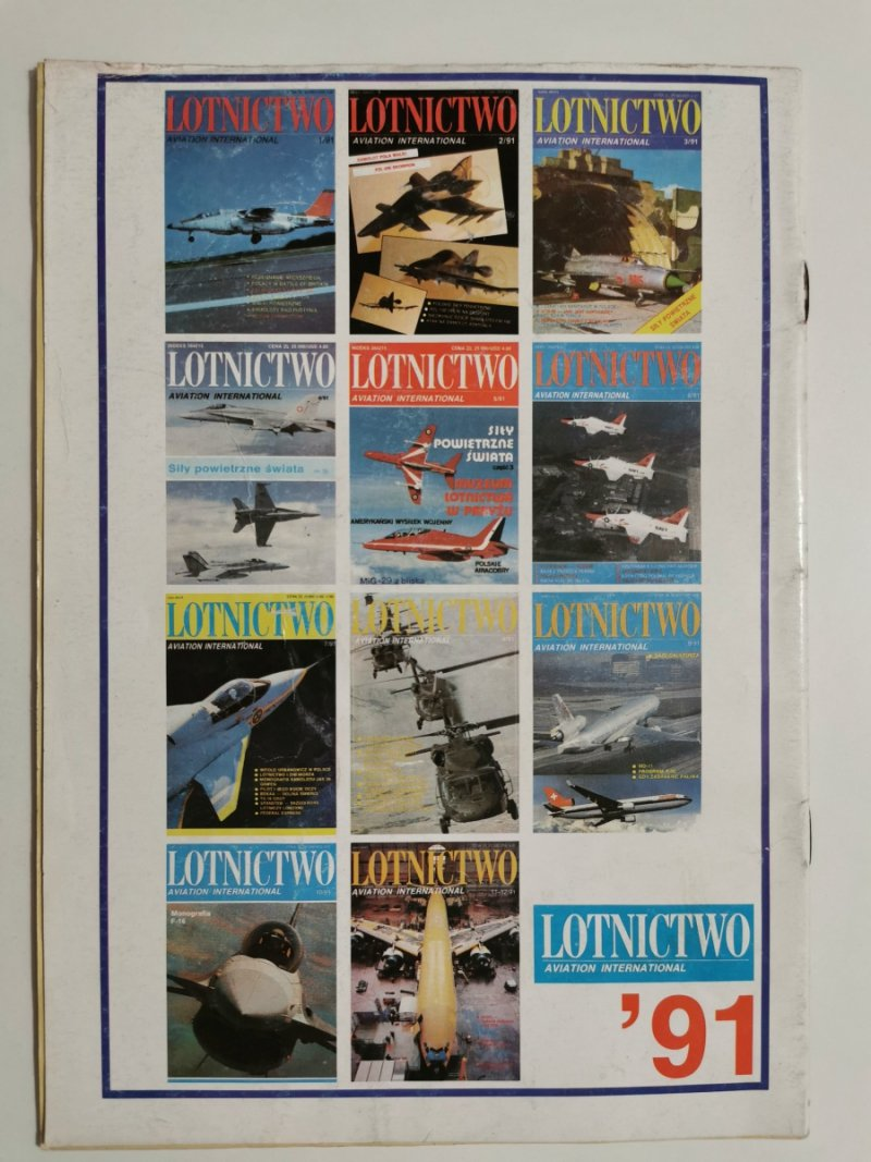 LOTNICTWO NR 3 1992