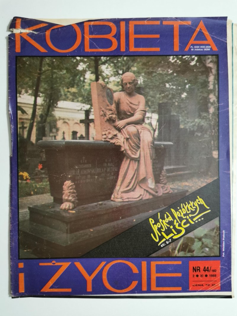 KOBIETA I ŻYCIE NR 44/1953 2 XI 1988