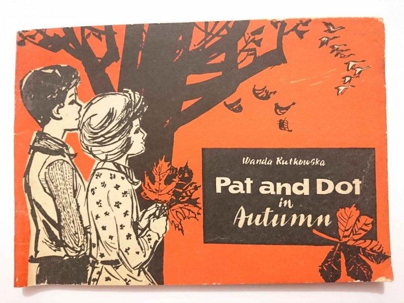 PAT AND DOT IN AUTUMN - Wanda Rutkowska 1973