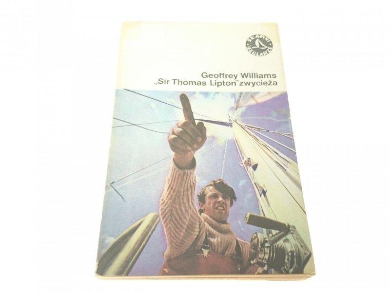 'SIR THOMAS LIPTON' ZWYCIĘŻA - G. Williams (1977)