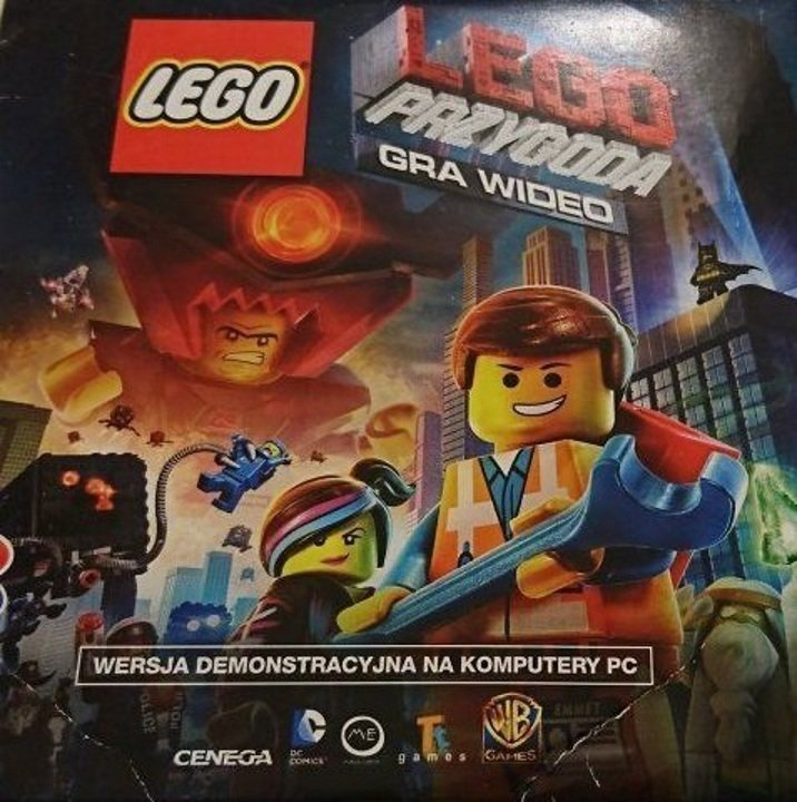 LEGO PRZYGODA GRA WIDEO. WERSJA DEMONSTRACYJNA