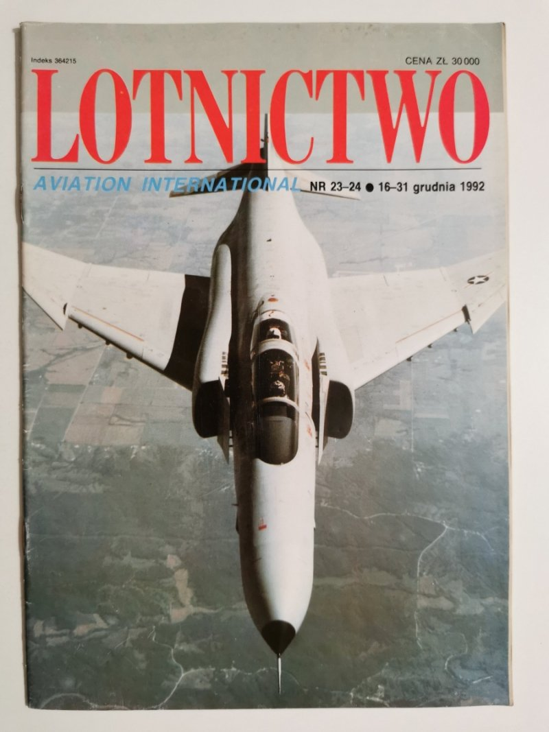 LOTNICTWO NR 23-24 1992