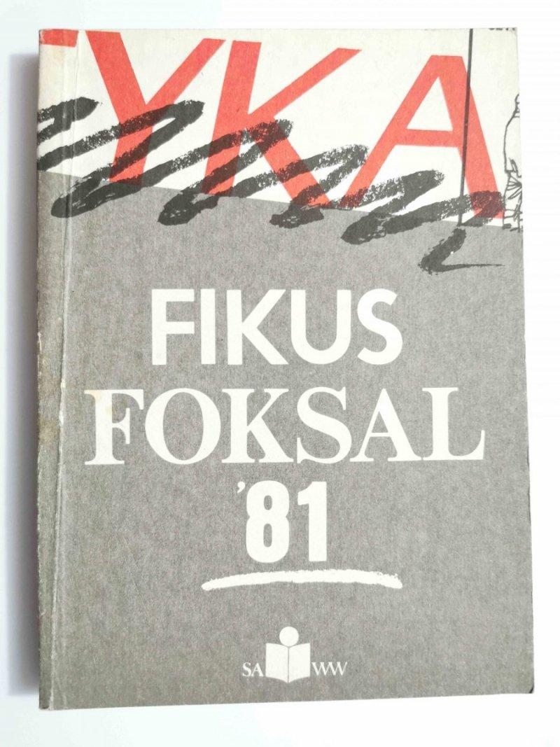 FOKSAL '81 - Dariusz Fikus 1989