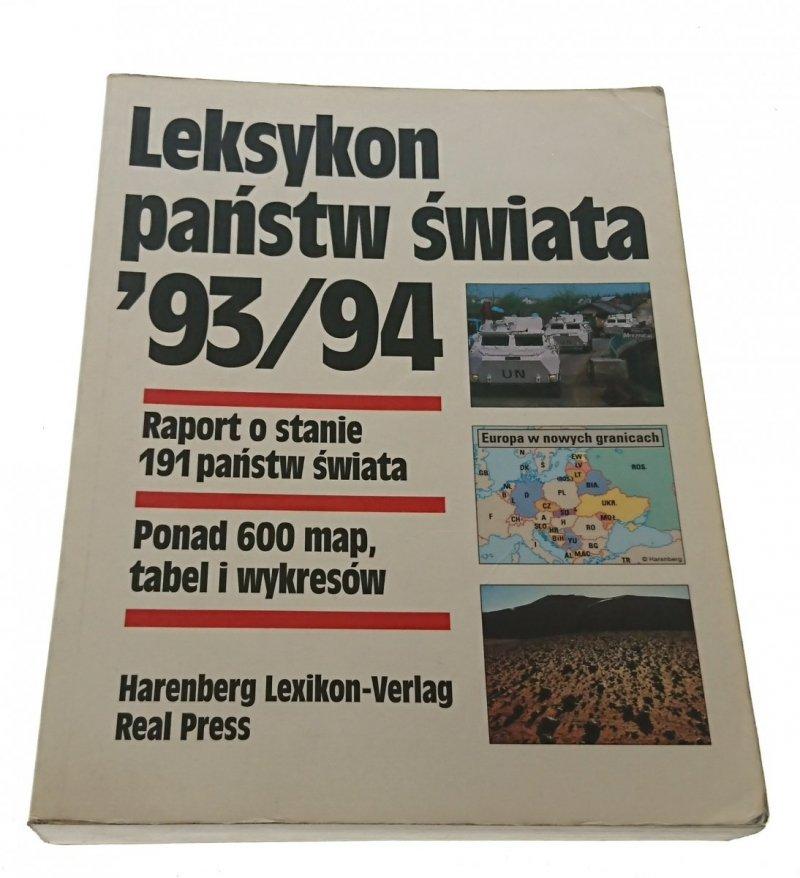 LEKSYKON PAŃSTW ŚWIATA '93/94 (1993)