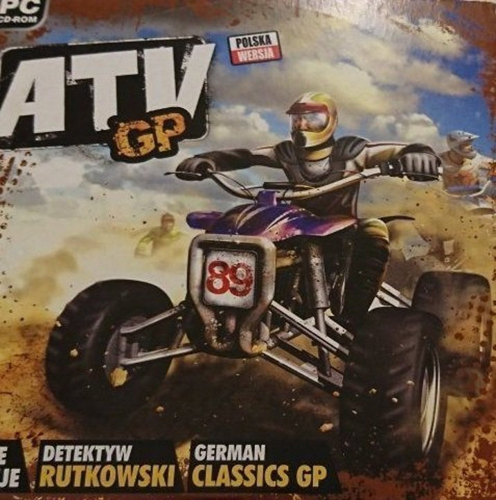 ATV GP PC CD-ROM