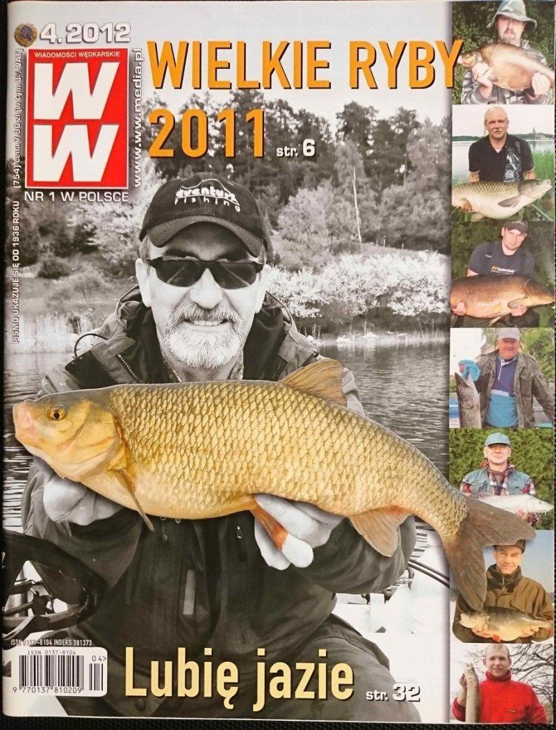 WIADOMOŚCI WĘDKARSKIE NR 4.2012