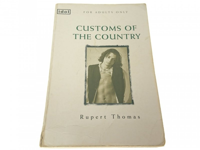 CUSTOMS OF THE COUNTRY - Rupert Thomas (1998)