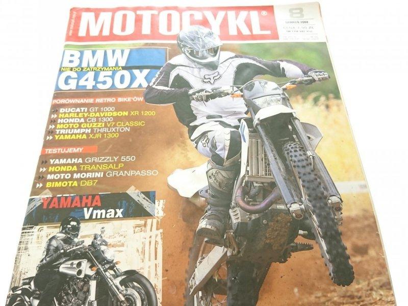 MOTOCYKL NR 165. 8 SIERPIEŃ 2008