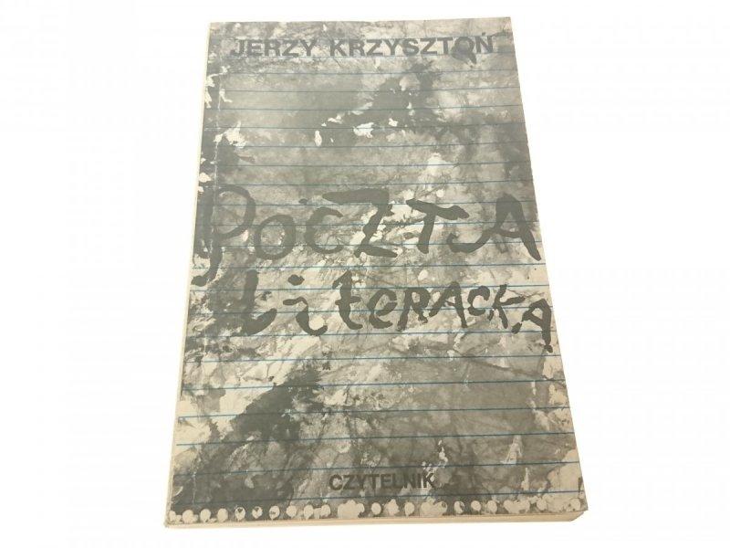 POCZTA LITERACKA - Jerzy Krzysztoń 1985