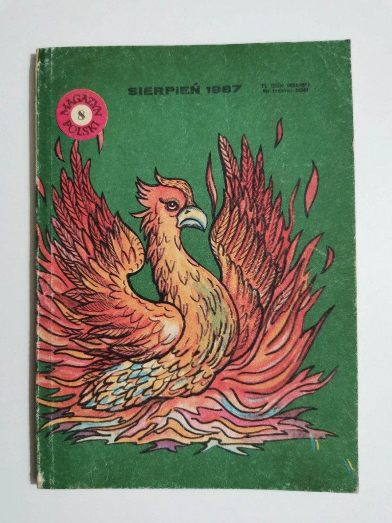 MAGAZYN POLSKI NR 8 SIERPIEŃ 1987