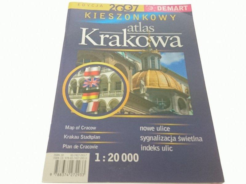 KIESZONKOWY ATLAS KRAKOWA 1 : 20 000 (2007)