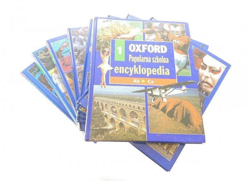 OXFORD. POPULARNA SZKOŁA ENCYKLOPEDIA 9 TOMÓW 1996