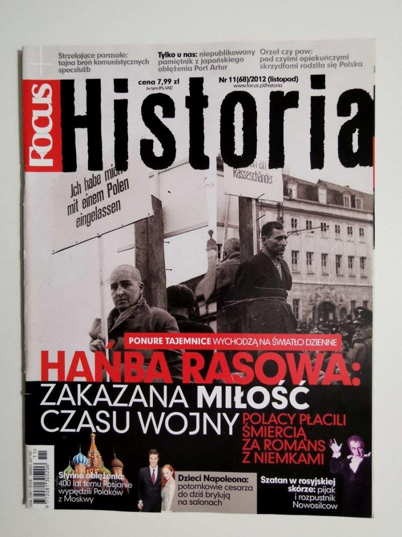 FOCUS HISTORIA NR 11 (68)/2012 LISTOPAD