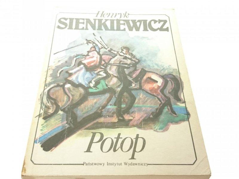 POTOP TOM III - Henryk Sienkiewicz 1987
