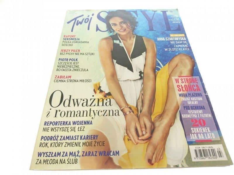 TWÓJ STYL NUMER 7 (276) LIPIEC 2013 BEZ PŁYTY DVD
