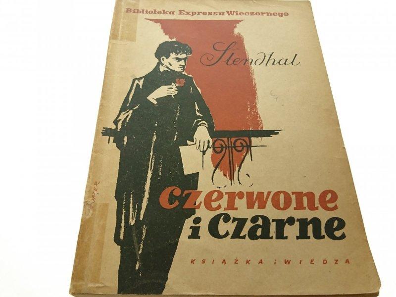 CZERWONE I CZARNE TOM I - Stendhal 1952