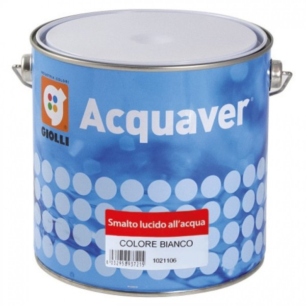 ACQUAVER SMALTO LUCIDO - 0,375L (emalia akrylowa do drewna, PCV i metalu)