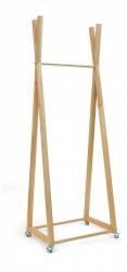 Wieszak drewniany B - 2 M  Slim