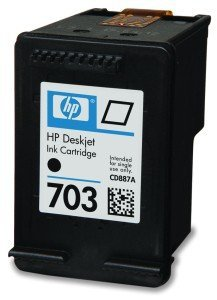 TUSZ ZAMIENNIK HP 703 BLACK [19ml] [XL]