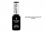 Victoria Vynn Gel Polish Matt Top - Top matowy 8ml