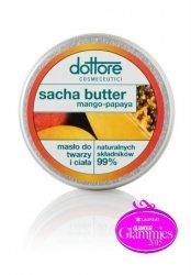 Dottore Cosmeceutici Sacha butter mango-papaya - masło do twarzy i ciała 50 ml