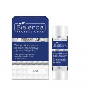 Bielenda Supremelab S.O.S Wzmacniające serum do skóry naczynkowej z rutyną i witaminą C 15ml
