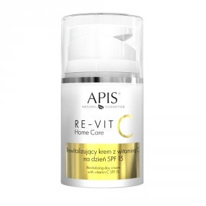 Apis RE-VIT C Rewitalizujący krem z witaminą C na dzień SPF 15 NOWOŚĆ