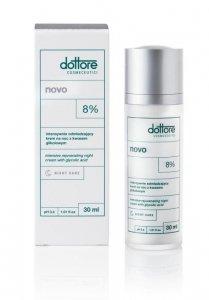 Dottore Cosmeceutici Novo - Intensywnie odmładzający krem z 8% kwasem glikolowym 50ml