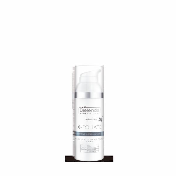 Bielenda X-Foliate Regenerujący krem do twarzy z CICA 50 ml abant