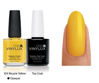CND Vinylux Bicycle Yellow - 15 ml