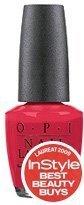 OPI Big Apple Red N25 15ml - lakier do paznokci