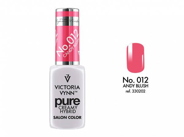 Victoria Vynn Pure Color - No.012 Andy Blush 8 ml