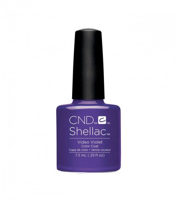Lakier CND Shellac Video Violet 7,3 ml